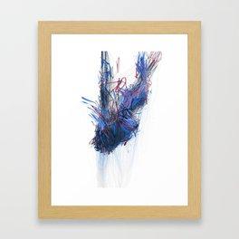 Unwelcome Gaze – Facebook 15 Framed Art Print
