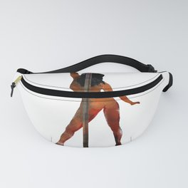 Pole Dancing Girl Fanny Pack
