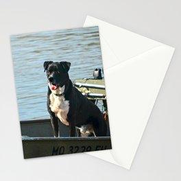 Dog Gone Fishing Stationery Cards