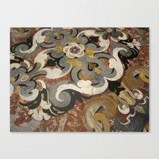 Marble Filigree Canvas Print