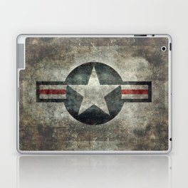 Air force Roundel v2 Laptop & iPad Skin