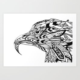 The Crowned Art Print
