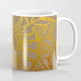 Aztec Sun Tribal Design 3 Coffee Mug