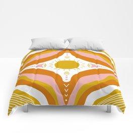 sunshine mandala Comforters