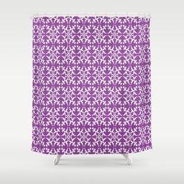 Pattern Vectors Shower Curtain