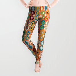 brocade orange peel Leggings