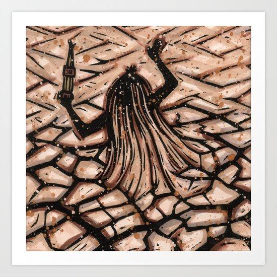 Orixás - Obaluaiê Art Print
