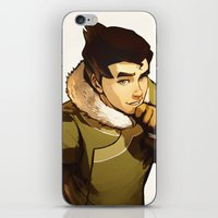 returns iPhone & iPod Skins featuring Bolin Returns by Caleb Thomas