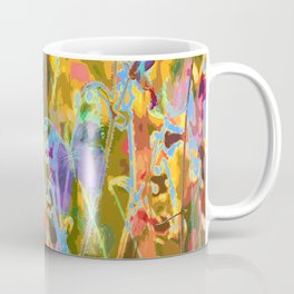 Butterflies flying in meadow - lovely colors and details - summer mood Coffee Mug