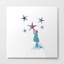 Stars art Metal Print
