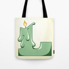 Alphabet L Tote Bag
