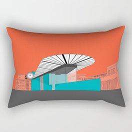 Turquoise Island Rectangular Pillow