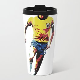 Socrates, Brazilian soccer superman Travel Mug