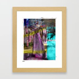 Alone In The Streets Framed Art Print