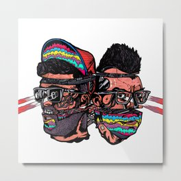 Bass Brothers Metal Print