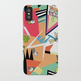 OKyada Forest Bugs iPhone Case