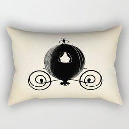 Midnight Carriage Rectangular Pillow