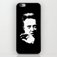 christopher walken iPhone & iPod Skins featuring Christopher Walken by Spyck