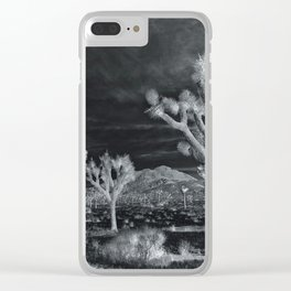 Joshua Tree InfraRed by CREYES Clear iPhone Case