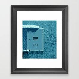 Italian Gas Framed Art Print