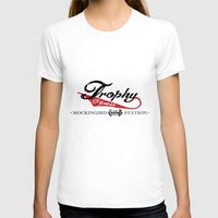 fitness T-shirts featuring Vintage Trophy Fitness by D Λ V I D