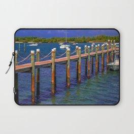 Boat Ramp To Paradise Laptop Sleeve