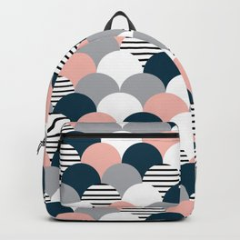 Colorful fish scales Backpack
