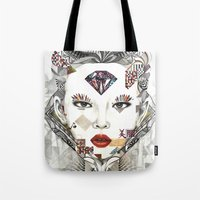 sublime Tote Bags featuring Sublime by Teixeira Emanuel (Etex85)