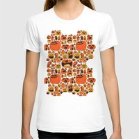 pumpkin T-shirts featuring Pumpkin Pattern by Chris Piascik