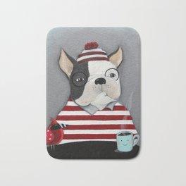 Waldo the Boston Terrier Bath Mat