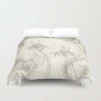 plants Duvet Covers featuring Plants by Andrew Ken Stewart