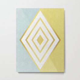 Fashion diamond I Metal Print