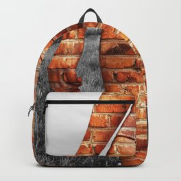 Urban Girl on Countryside Backpack