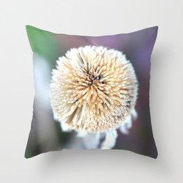 Seed Pod Sphere   Nadia Bonello Throw Pillow