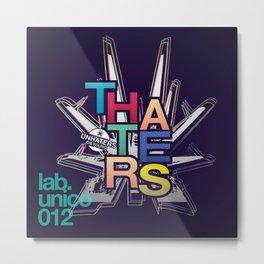 """theHaters"" Metal Print"