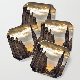 Royal Mile Sunrise in Edinburgh, Scotland Coaster