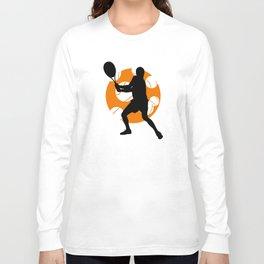 TENNIS Clay Backhand Balls Long Sleeve T-shirt