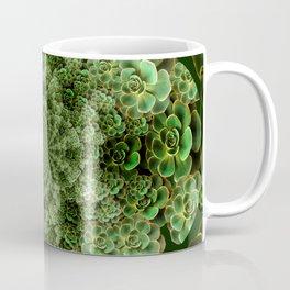 SEA FOAM FROTHY BLUE-GREEN SUCCULENTS Coffee Mug