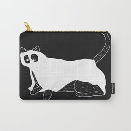 Ghost Cat Carry-All Pouch