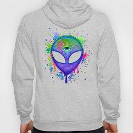 Alien Melt - purple Hoody