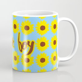 Sunflower Boy Coffee Mug