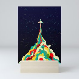 Into the Sky Mini Art Print