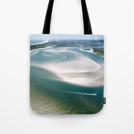 Rich's Inlet at the North End of Figure 8 Island | Wilmington NC Tote Bag