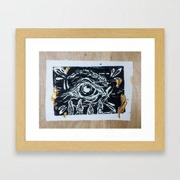 Death Anxiety Framed Art Print
