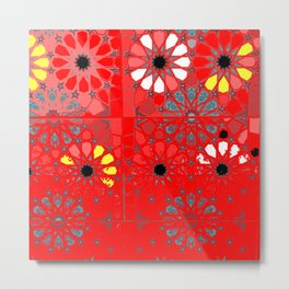 red tunisia Metal Print