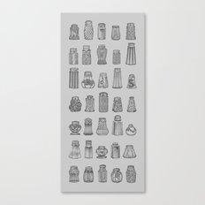 Salt & Pepper Canvas Print