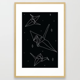 Space Cranes? Framed Art Print