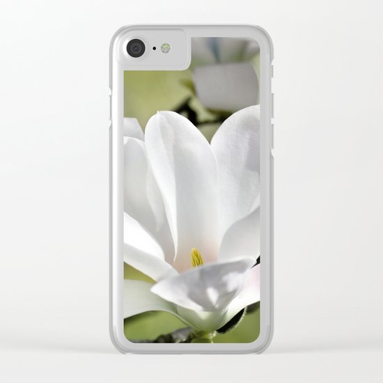 Magnolia 171 Clear iPhone Case