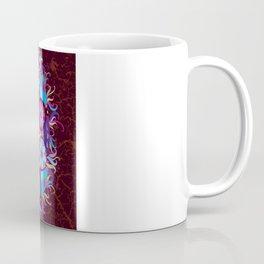 Ornamental round lace pattern.Delicate circle Coffee Mug