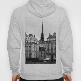 A View of Sainte Chapelle from the Right Bank of the Seine River, Paris, France Hoody